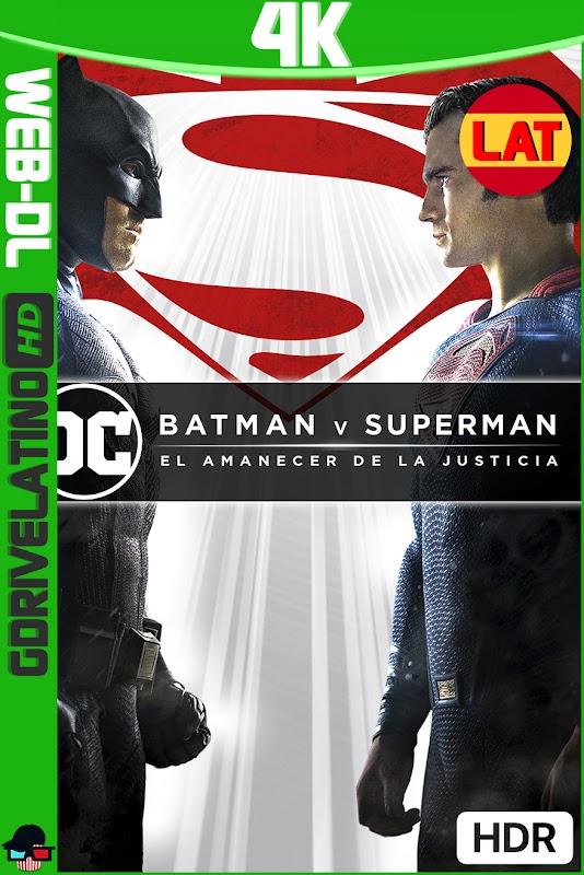 Batman vs Superman (2016) Ultimate Edition REMASTERED IMAX WEB-DL 4K HDR Latino-Ingles MKV