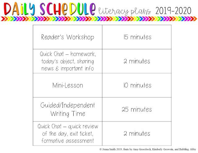 Class Period Schedule