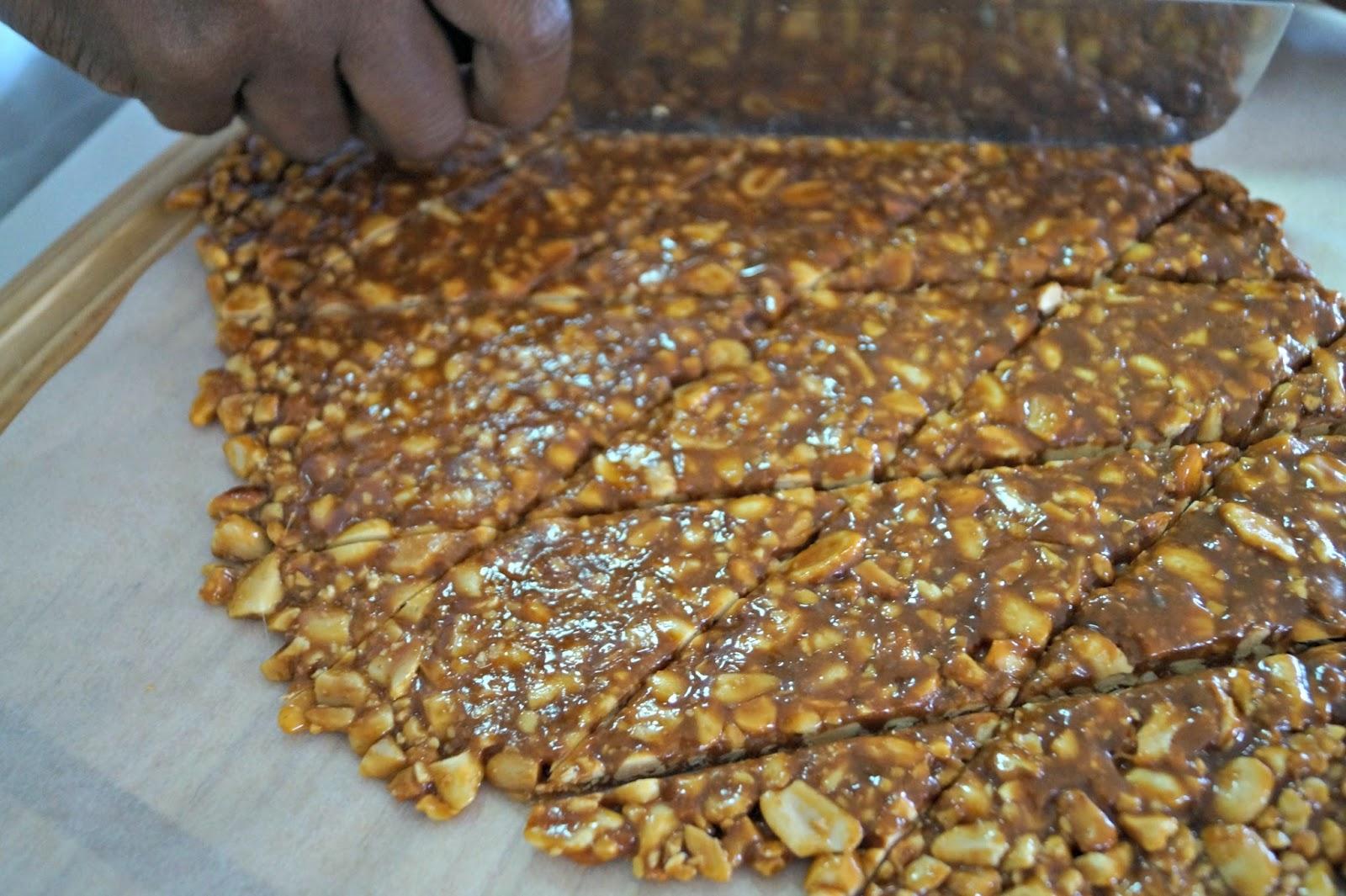 Groundnut Sugar Cake Recipe