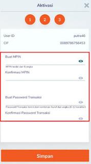 cara daftar & aktivasi bni mobile banking - membuat mpin bni
