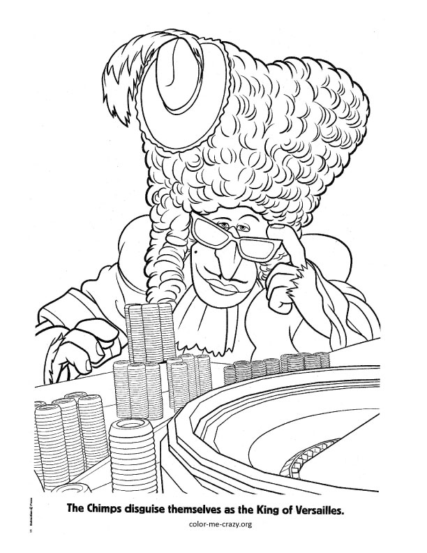madagascar 3 circus coloring pages | ColorMeCrazy.org: Madagascar 3 Coloring Pages