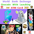 WORLD BANK ONECOIN  EXCHANGE  LUCHING  WITH  ATM CARD