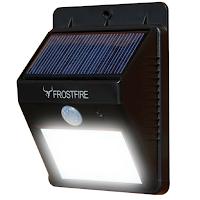 Une lumière sans fil à LEDS solaires avec détecteur de mouvement