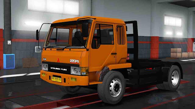 MOD FUSO FN 517 beta v1 Euro Truck Simulator 2