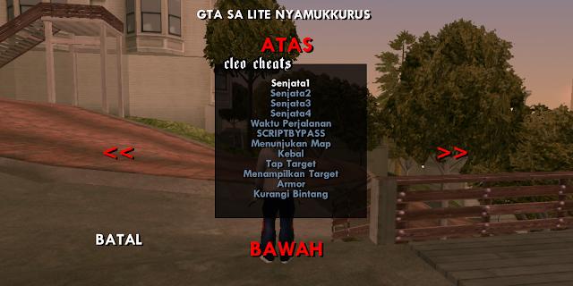 GTA SA Lite Mod CLEO Indonesia