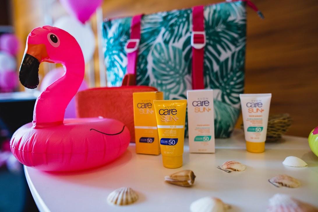 Avon Care SUN+ products