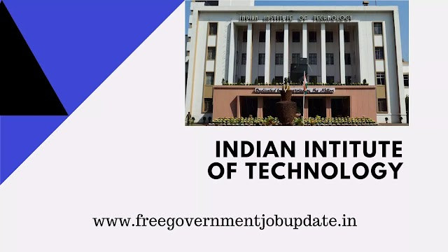 Indian Institute of Technology recruitment