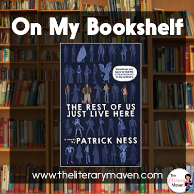 In The Rest of Us Just Live Here by Patrick Ness, realistic fiction is infused with fantasy and the supernatural. Mike is just an average senior trying to graduate high school and make it to college, but then there's the zombie-like creatures, explosions, and incidents in the past that adults won't speak of. Read on for more of my review and ideas for classroom application.