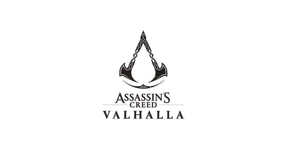 Assassins Creed Valhalla, Logo, 8K, #7.1978