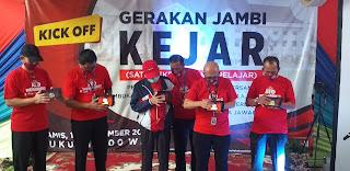 Gubernur Jambi Secara Resmi Membuka Kick Off Gerakan Jambi KEJAR.