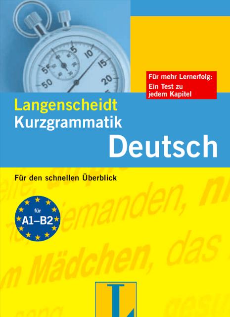 Langenscheidt Kurzgrammatik A1 A2 B1