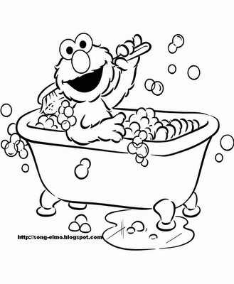 Elmo Coloring Pages