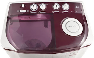 LG P7559R3FA 6.5 kg Semi Automatic Washing Machine  4