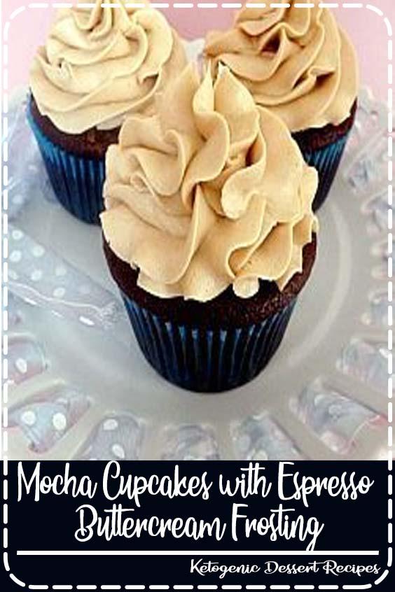 Mocha Cupcakes with Espresso Buttercream Frosting    Mocha Cupcakes with Espresso Buttercream Frosting