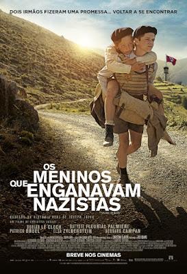 Capa Os Meninos que Enganavam Nazistas Torrent 720p 1080p 4k Dublado Dublado Baixar