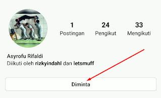 Cara Melihat Permintaan Pertemanan Follow Di Instagram
