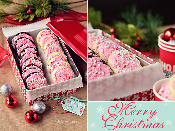 Easy Peppermint Buttercream Cake Mix Cookies Recipe