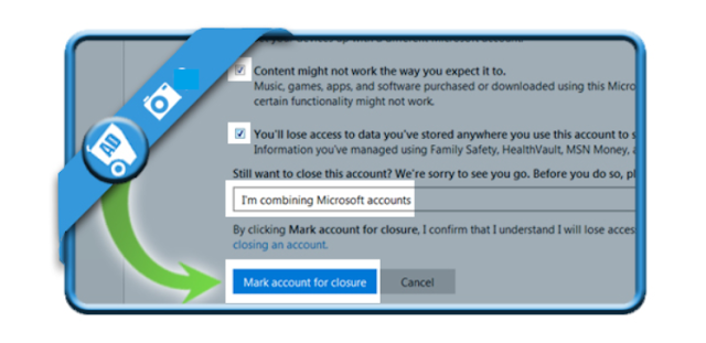Delete a Hotmail account and Outlook.com account