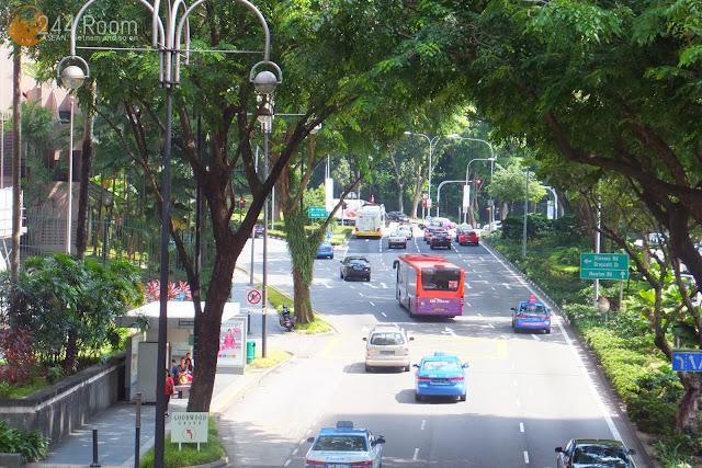 シンガポールの大通り Avenue-sigapore