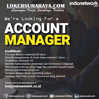 We Are Hiring at Indo Network Surabaya Juli 2020