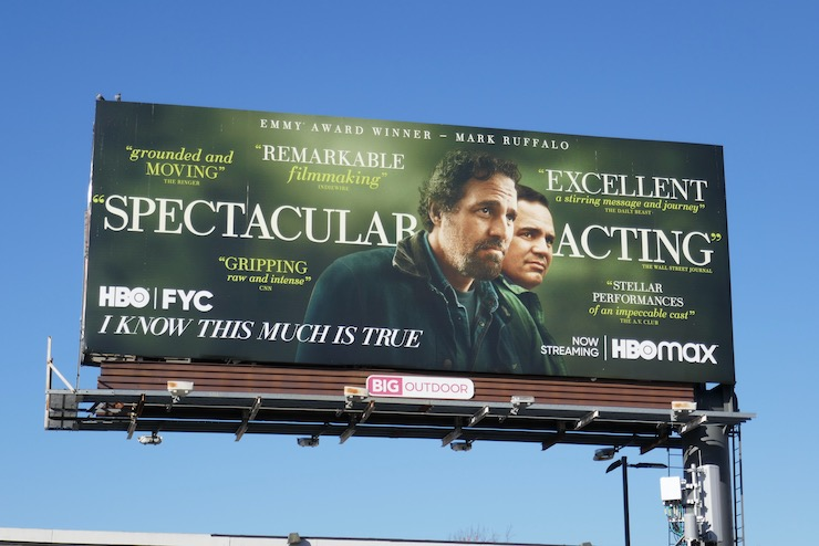 I Know This Much Is True FYC billboard