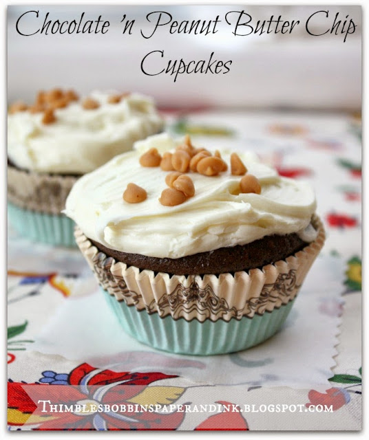 chocolate cupcakes - chocolate peanut butter cups