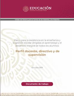 Perfil docente, directivo y de supervisión