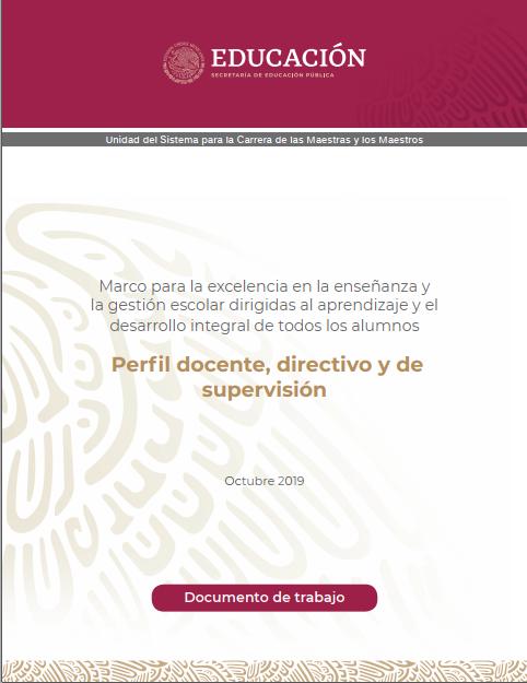 Perfil docente, directivo y de supervisión NEM