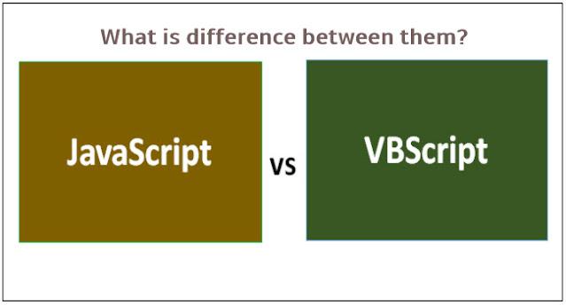 JavaScript VS VBScript