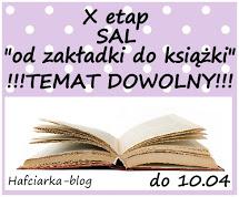 """SAL """"Od zakładki do książki"""" -X etap"""