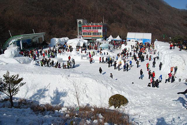 स्कीइंग उत्सव