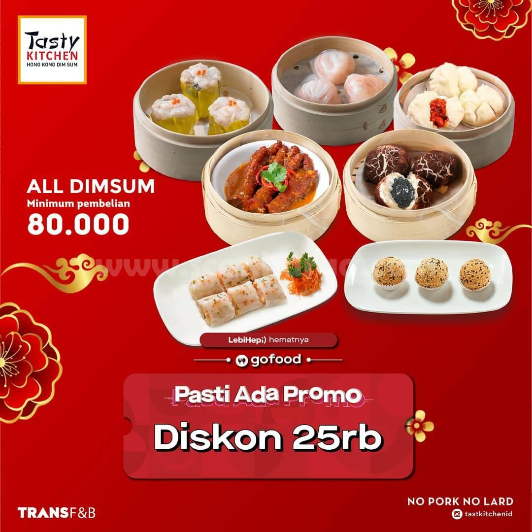 Tasty Kitchen Pasti Ada Promo Gofood! Diskon Rp 25.000