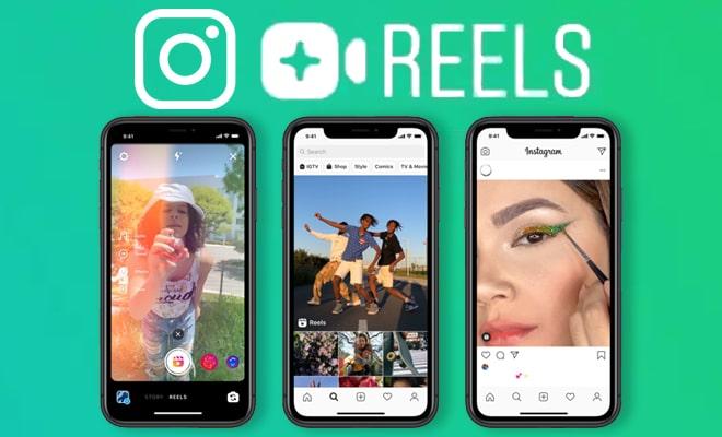 Instagram New Feature Reels Just Like TikTok