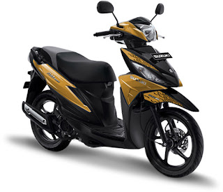 Letak Nomor Rangka dan Nomor Mesin Suzuki Address