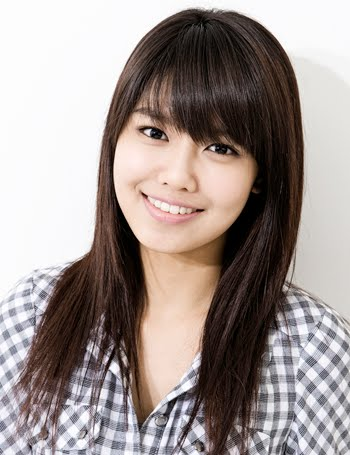 Fashion Gossips Long Asian Straight Hairstyle With Side Swept Bangs