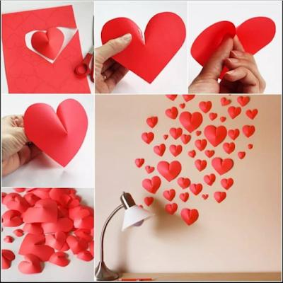 11 Tutorial Membuat Hiasan Dinding Dari Kertas Mudah Sederhana Dan Tidak Menguras Kantong 9