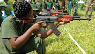 Female game rangers on the dangerous poaching front lines