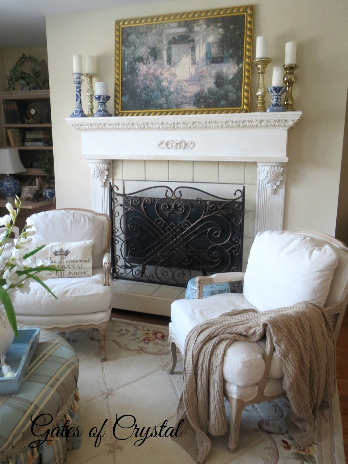 Gates Of Crystal: Fireplace Screen For The Livingroom