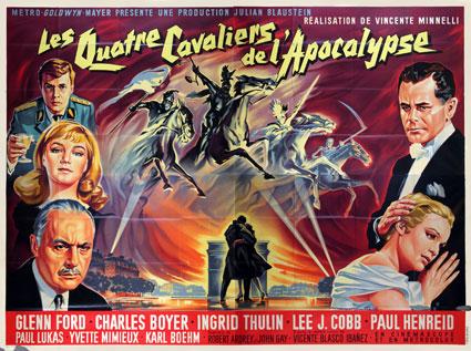les quatre cavaliers de lapocalypse 1962
