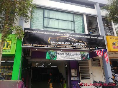 House of Tinted Cawangan Shah Alam