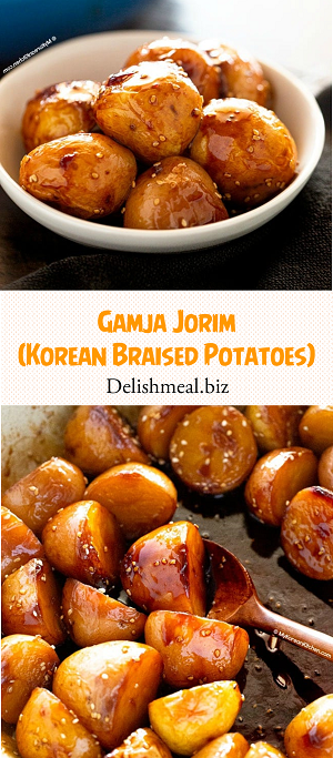 Gamja Jorim (Korean Braised Potatoes)