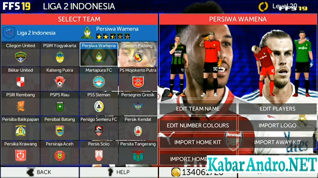 FTS 19 Mod Liga 1 & 2 Bukalapak Update V3