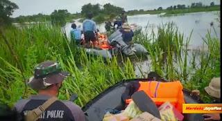 Team Satgas Koarmada II Sisir Daerah  Terisolir Yang Belum Dapat Bantuan