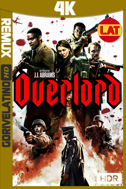 Operación Overlord (2018) BDRemux 4K HDR Latino-Ingles MKV