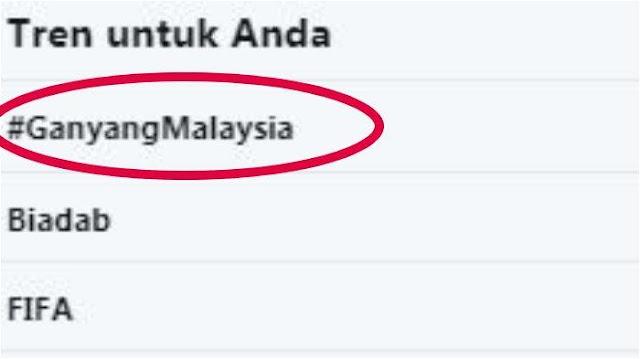 Penganiayaan Pendukung Timnas Indonesia, Warganet Serukan #GanyangMalaysia