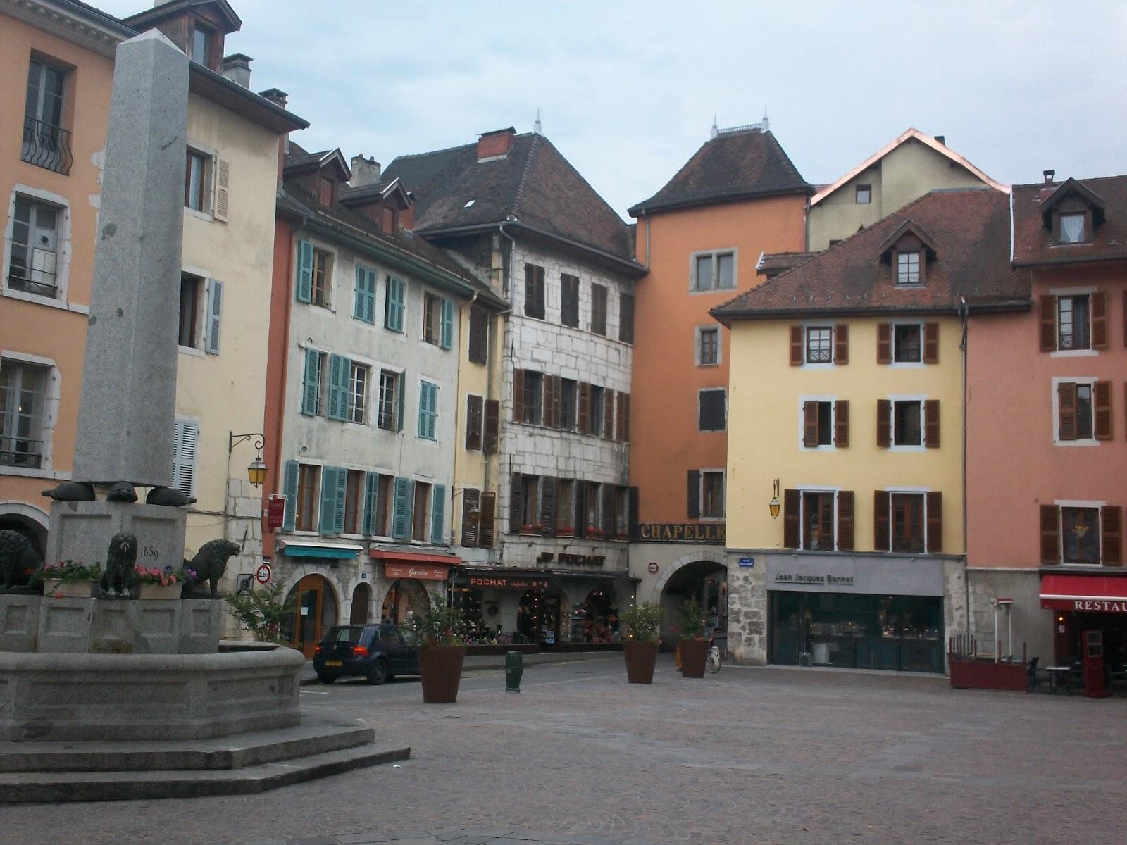 Ce am vizitat in 6 zile la Lyon si Annecy