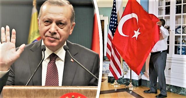 """Ερντογάν: Το προϊόν μιας κραυγαλέας αμερικανικής """"γκάφας"""""""
