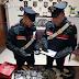Molfetta (Ba). Nascondeva droga sul soppalco di casa. Arrestato dai Carabinieri pusher 20enne.