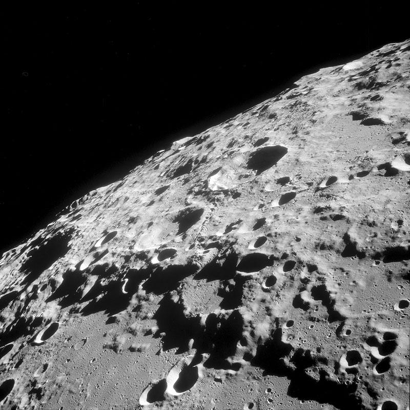 Луна обратная сторона фото из космоса