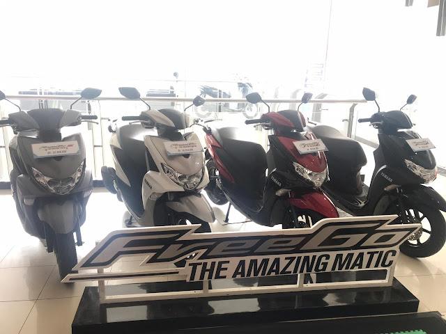 Yamaha Freego Palembang